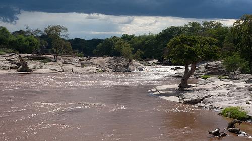 Rifts in a River by Peter Baltensperger