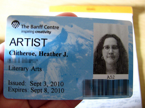 The Banff Centre Loves You by Heather Clitheroe