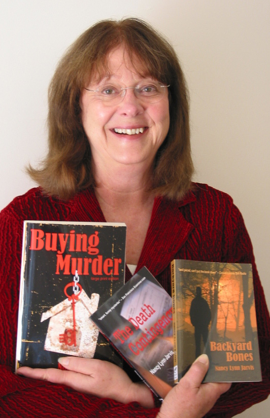 Mystery, murder and real estate: An interview with Nancy Lynn Jarvis