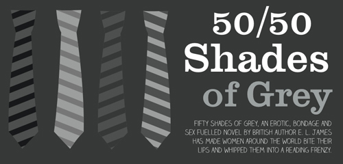 Fifty Shades of Grey – The Infographic