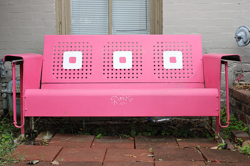 """Pink Sofa"" (photo by Flickr user Fire At Will)"