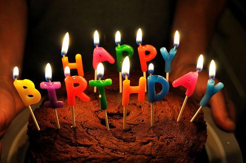 """Birthday Cake"" (photo by Flickr user Will Clayton)"