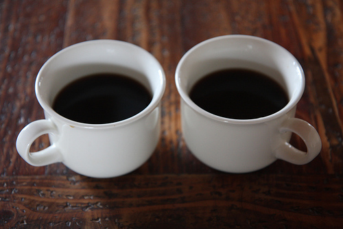 """Coffee in the morning"" (photo by Flickr user chichacha)"