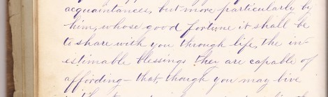 Love Letter from Gold Hill, Nevada - 1880