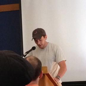Andrew Davis, Student Reading