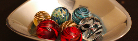 """Glass marbles"" image by Flickr user Parisa"