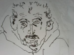 Line Drawing Garrett Phelan