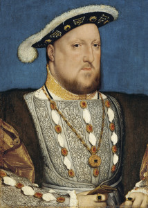 """Hans Holbein, the Younger, Around 1497-1543 - Portrait of Henry VIII of England - Google Art Project"" by Hans Holbein the Younger - at Google Cultural Institute. Licensed under Public Domain via Wikimedia Commons."