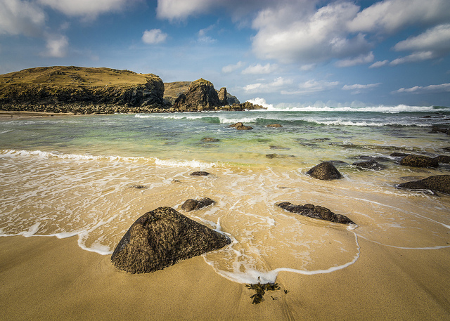 """Dalbeg Beach (new edit)"" image by Flickr user Chris Combe"