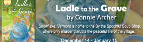 Ladle to the Grave: An excerpt + #giveaway from Connie Archer