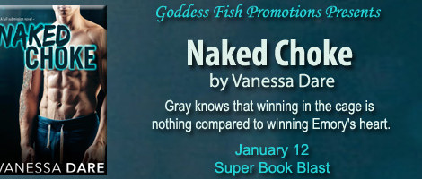 Naked Choke: An excerpt + #giveaway from Vanessa Dare